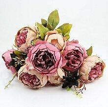 SimpleLife 1 Bouquet Hellrosa Vintage Künstliche