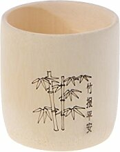 SimpleLife Bambus Holz Trinkbecher Kaffee Tee
