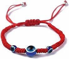SimpleLife Lucky-Armbänder, rote Kette für