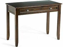 Simpli Home 3AXCBUR-007 Burlington Desk, Holz,