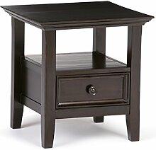 Simpli Home AXCAMH-002 Amherst End Side Table,