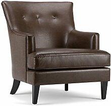 Simpli Home AXCCHR-012 Galway Club Chair,