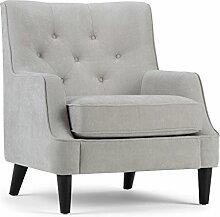 Simpli Home AXCCHR-016 Grange Club Chair, Stoff,