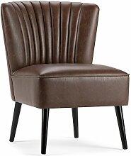 Simpli Home AXCCHR-017 Hollyford Club Chair,