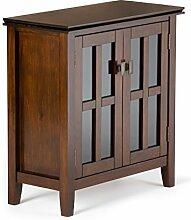 Simpli Home AXCHOL015 Artisan Low Storage Cabinet,
