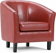 Simpli Home AXCTUB-003 Austin Tub Chair,