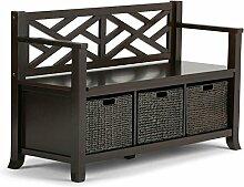 Simpli Home INT-AXCADR-BNCH-EB Adrien Storage