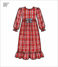 Simplicity Muster 8272 HH Kind 's und Girl