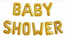 Simplydeko Folienballon Set Baby Shower - Premium