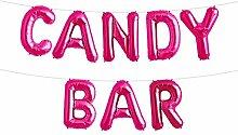 Simplydeko Folienballon Set Candy BAR - Premium