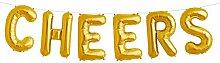 Simplydeko Folienballon Set Cheers - Premium