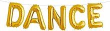 Simplydeko Folienballon Set Dance - Premium