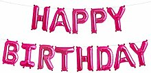 Simplydeko Folienballon Set Happy Birthday -