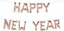 Simplydeko Folienballon Set Happy New Year -