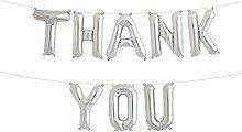 Simplydeko Folienballon Set Thank You - Premium