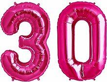 Simplydeko Folienballon Zahlen Set | Zahlenballons