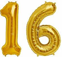 Simplydeko Folienballon Zahlen Set   Zahlenballons