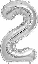 Simplydeko XXL Zahlenballon | Riesen-Folienballon