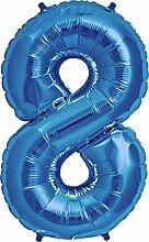 Simplydeko XXL Zahlenballon   Riesen-Folienballon