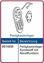 Simu Motorlager für T3.5 Rolladenmotor Fertigkastenlager mit Abrollfunktion