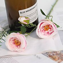 Simulation Bouquet 3 Tee Rose Blume Hochzeit T