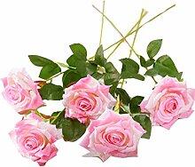 Simulation Bouquet 5 Rosen Blumengesteck Für