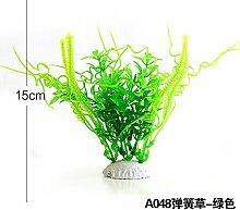 simulation der wassertank im aquarium im garten - und landschaftsbau dekorationen blumen auf kleine grün und lila, große gruppen von ornamenten pflanze,das grüne gras grün a048