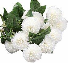 Simulation Hydrangea 5 Niederlassungen Blütenkopf