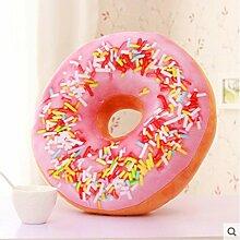 Simulation kreative Donuts Kissen 3D Plüsch schöne Büro Sofa Kissen , 4