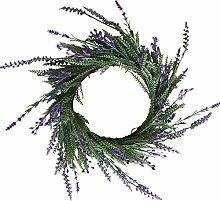 Simulation Provence Lavendel Beerenpflanze Kranz