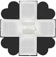 SinceY Fotoalbum Box Handbuch DIY, Explosion Box