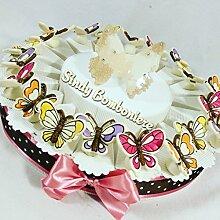 Sindy Gastgeschenk Bonboniere Schmetterling