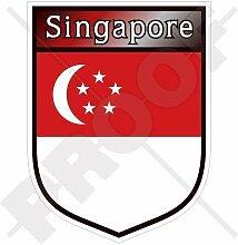 SINGAPUR Singapurische Schild 100mm Auto &