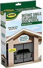 Single Auto Garage Tür Magnetverschluss Mesh