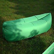 Single-port-einschicht-tragbares Aufblasbares Sofa