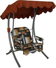 Singleschaukel (1,5-Sitzer) Design Bambus