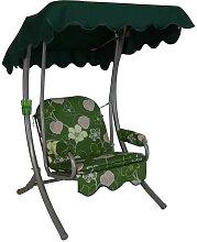 Singleschaukel (1,5-Sitzer) Design Meran grün