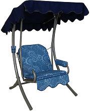 Singleschaukel (1,5-Sitzer) Design Santorin
