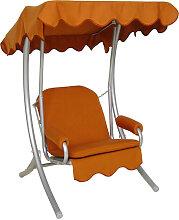 Singleschaukel (1,5-Sitzer) Design Uni Terracotta