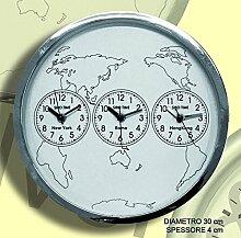 Siro Time Uhr, Chrom, Einheitsgröße
