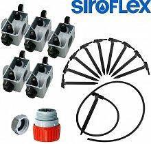Siroflex–Kit Bewässerung für 10Pflanzen