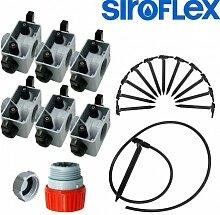Siroflex–Kit Bewässerung für 12Pflanzen