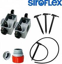 Siroflex–Kit Bewässerung für 4Pflanzen