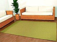 Sisal Natur Teppich Dekowe Hellgrün in 24 Größen