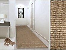 Sisal-Teppich Floordirekt STEP Sylt Beige Sisal