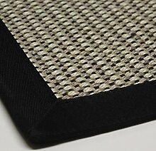 Sisal-Teppich hochwertig genähte Bordüre