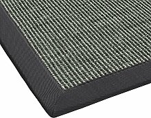 Sisal Teppich mit Bordüre Flachgewebe
