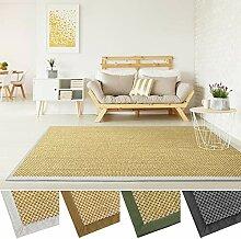 Sisal Teppich mit Bordüre   Premium Qualität mit