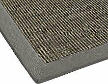 Sisal-Teppich modern hochwertige Bordüre