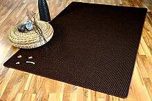 Sisalo Sisal Natur Teppich Braun Mix SONDERAKTION in 24 Größen